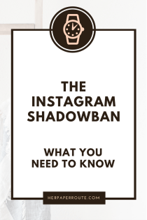 The Instagram Shadowban Is Real And Ruining Your Engagement. Heres What You Need To Know - Have You Been Shadowbanned? How To Actually Make Money Blogging Tools And Resouces - Passive Income - Affiliates - Content - Social Media - Management - SEO - Promote | www.herpaperroute.com