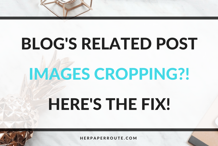 Is WordPress or JetPack cropping your 'related iposts' images? Do you want Pinterest size images as related posts? Related Post Image Cropping Fix - Passive Income - Affiliates - Content - Social Media - Management - SEO - Promote   www.herpaperroute.com
