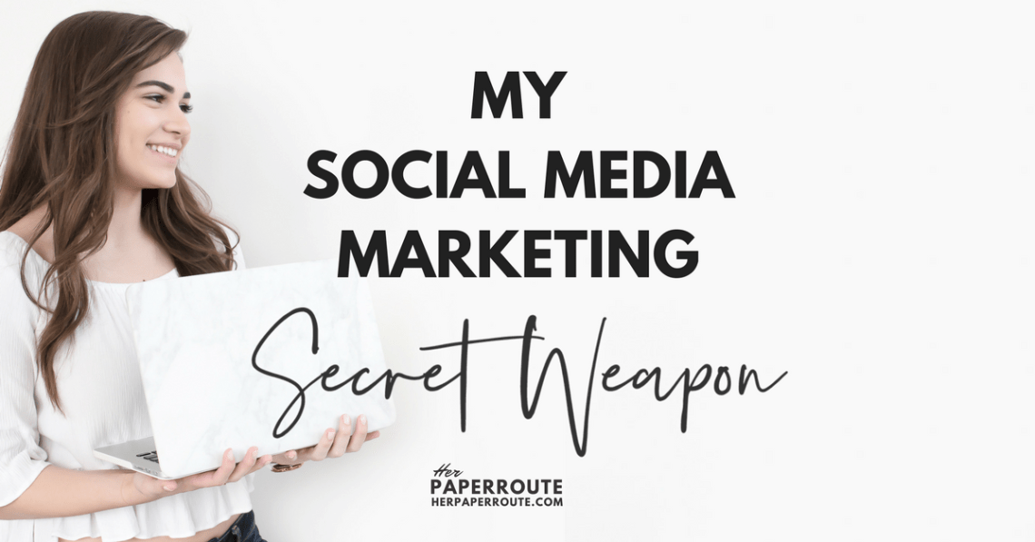 SmarterQueue Is My Social Media Marketing Secret Weapon | www.herpaperroute.com