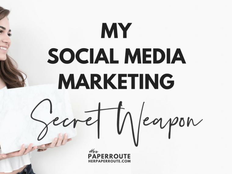 SmarterQueue Is My Social Media Marketing Secret Weapon | www.herpaperroute.com