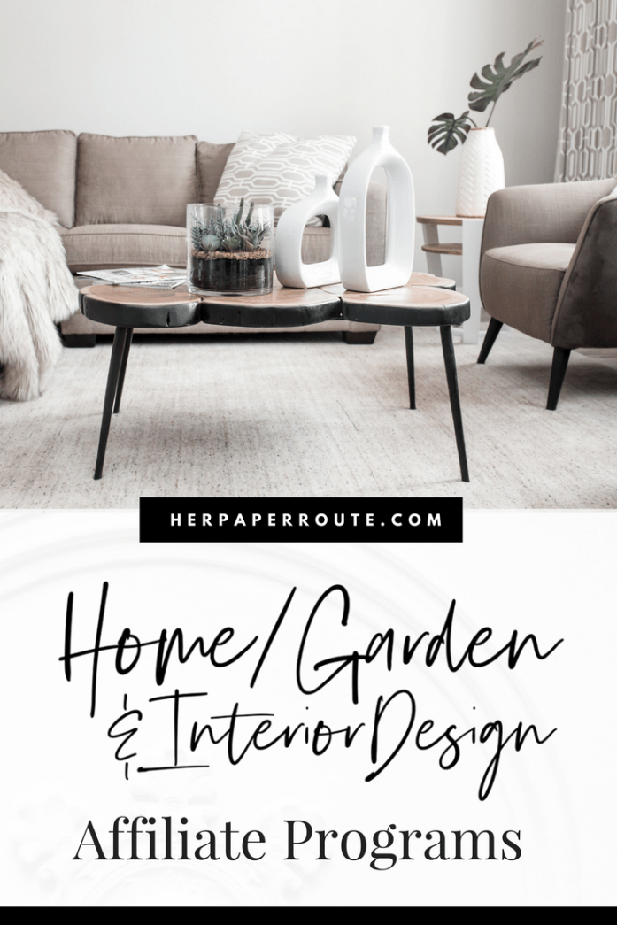 Top Home & Interior Design Affiliate Programs | HerPaperRoute