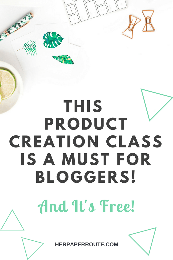 The Product Creation Masterclass Free Convertkit free convertkit masterclass | HerPaperRoute.com