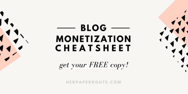 how to start a blog bluehost siteground discount BLOG MONETIZATION BOOK free blogging guide fre eblog cheatsheet make money blogging herpaperroute.com