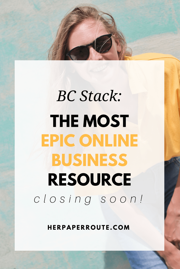 BC stack business resources whats incuded in BC Stack HerPaperRoute.com