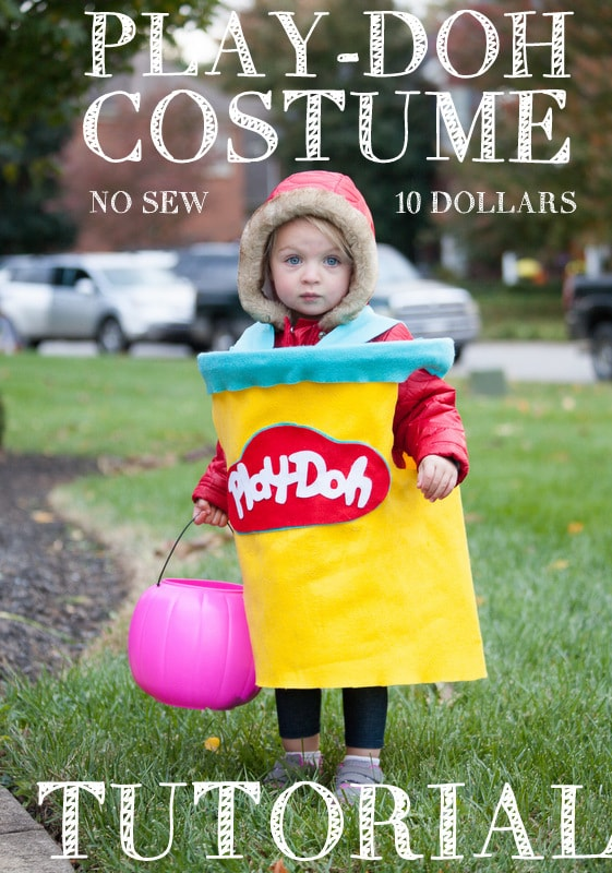 Diy Play Doh Costume Tutorial Her Party Pants