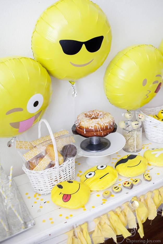 Emoji-Birthday-Party-with-yellow