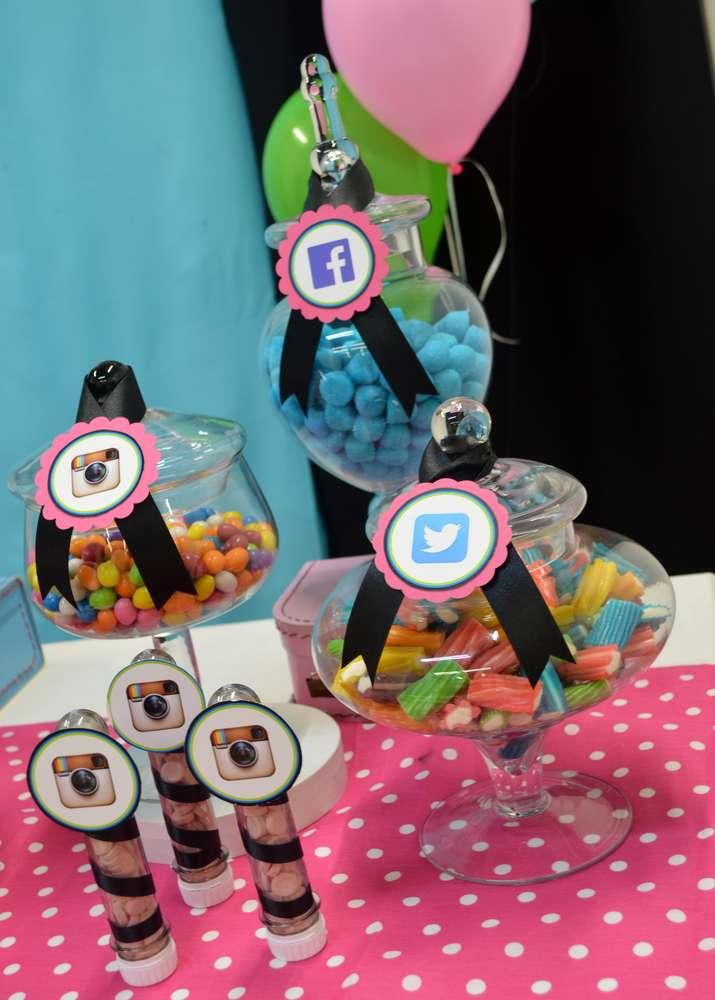 Social Media Themed Parties