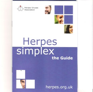 Herpes Simplex - the Guide, cover. Everything about genital herpes