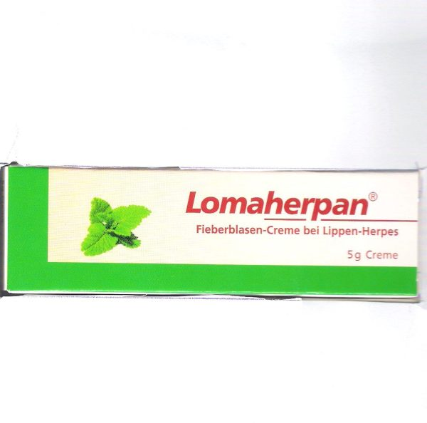Treatment for genital herpes - Lomaherpan cream