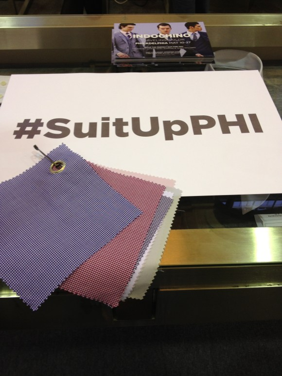 #SuitUpPHI with Indochino Philadelphia / Her Philly