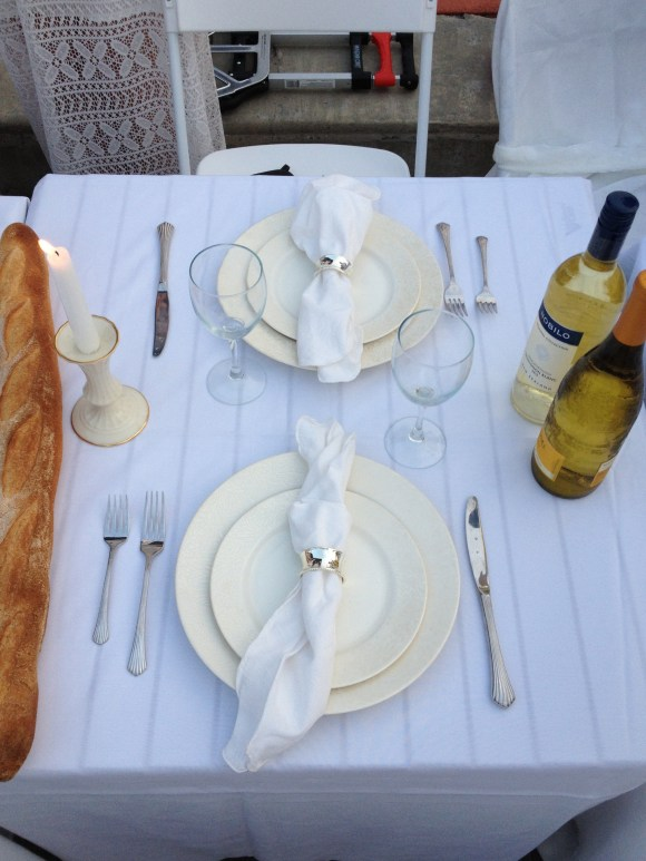 How to set a table at Diner En Blanc // Her Philly