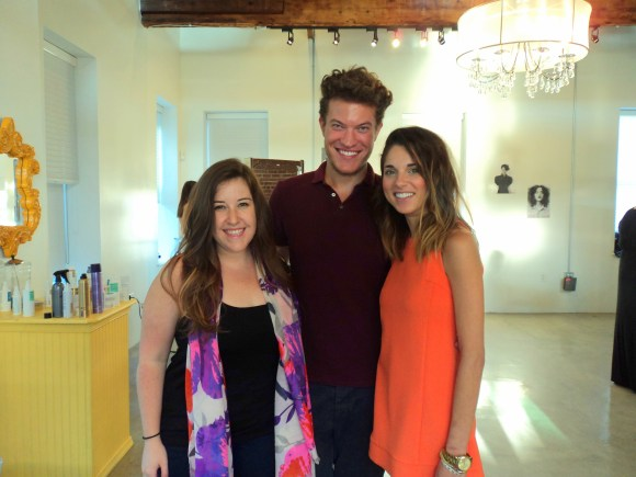 Emily Tharp with Chris and Rachel of Headhouse Salon // Her Philly