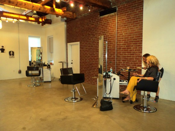 Inside Headhouse Salon in Queen Village, Philadelphia // Her Philly