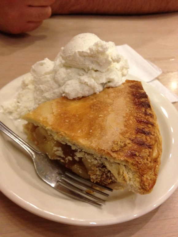 Apple pie from Little Pete's
