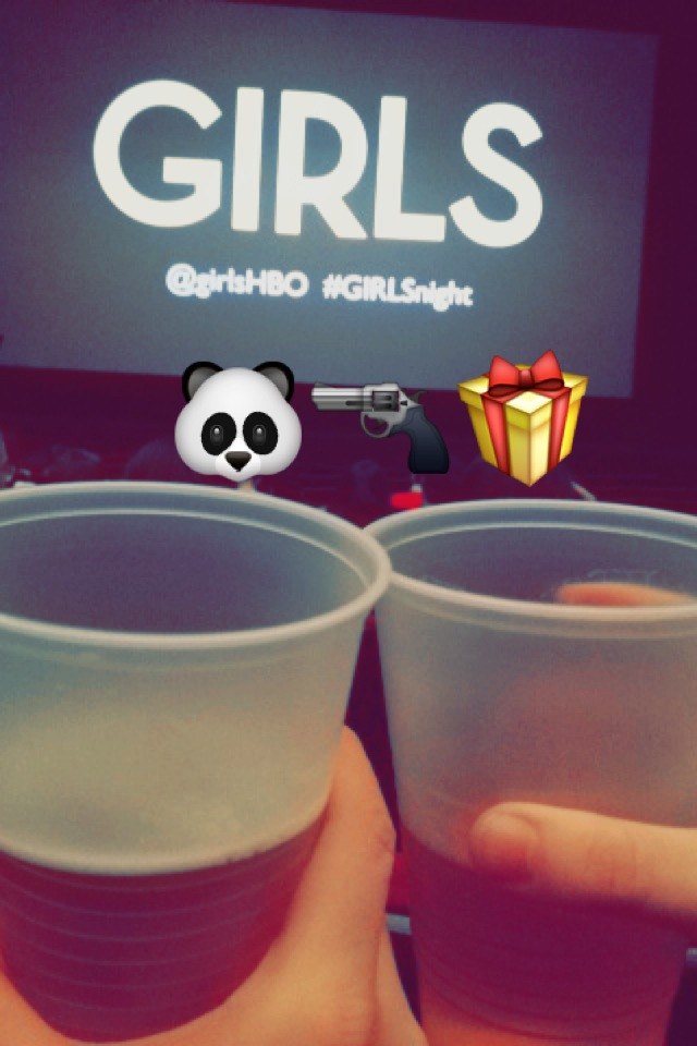 GIRLS Season 3 Premiere with emojis and beers // Her Philly