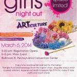 Girls Night Out At The Philadelphia Flower Show