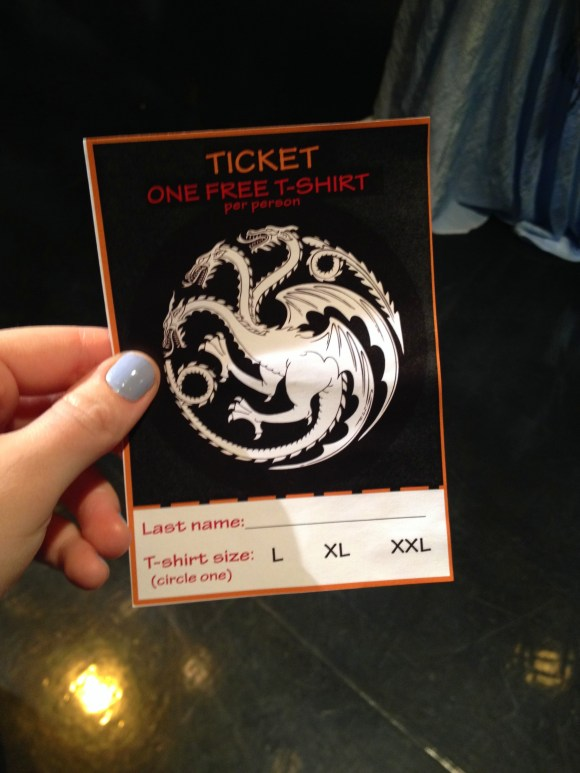 Philadelphia Game of Thrones Season 4 Premiere