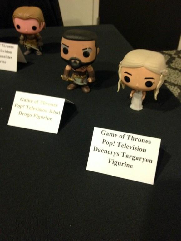 Daenerys and Khal Drogo figurines