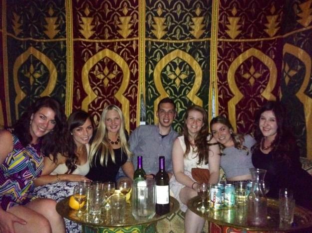 Inside Marrakesh Restaurant in  Philadelphia // Her Philly