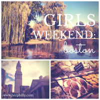 {Quick Trip} Boston Girls' Weekend