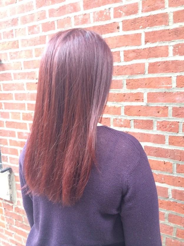 Hair color by Andre Richard Salon in Philadelphia // Her Philly