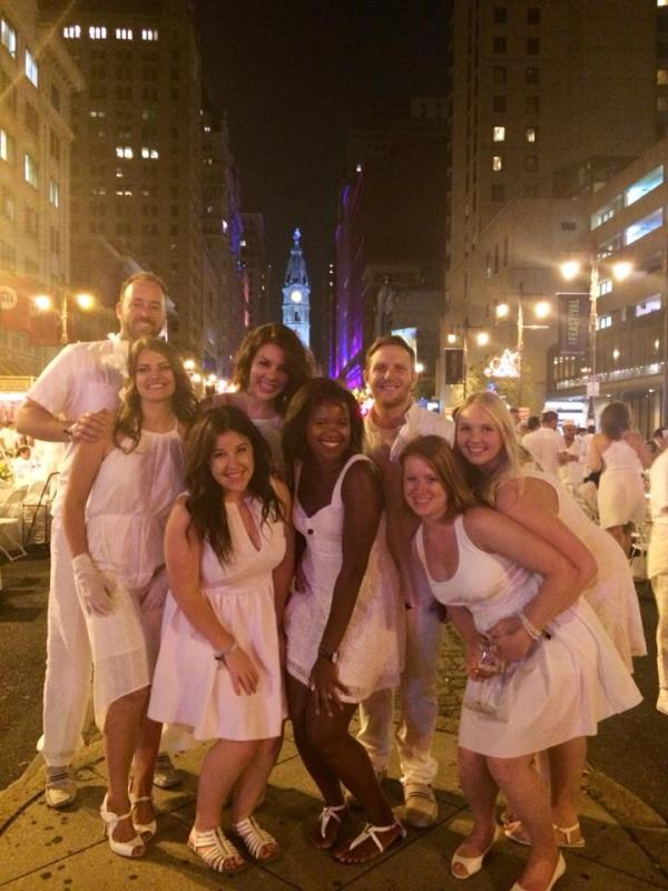 Diner en Blanc Philadelphia 2014 // Her Philly