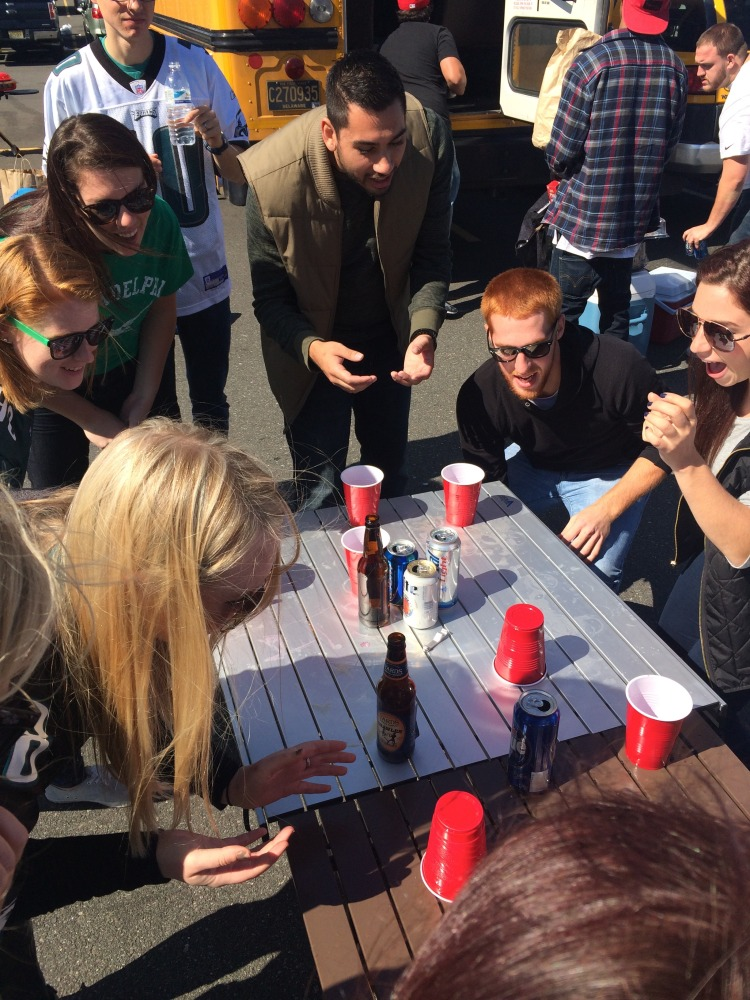 Tailgate Game ideas // Her Philly