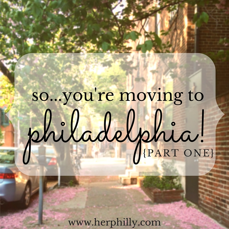 Moving to Philadelphia