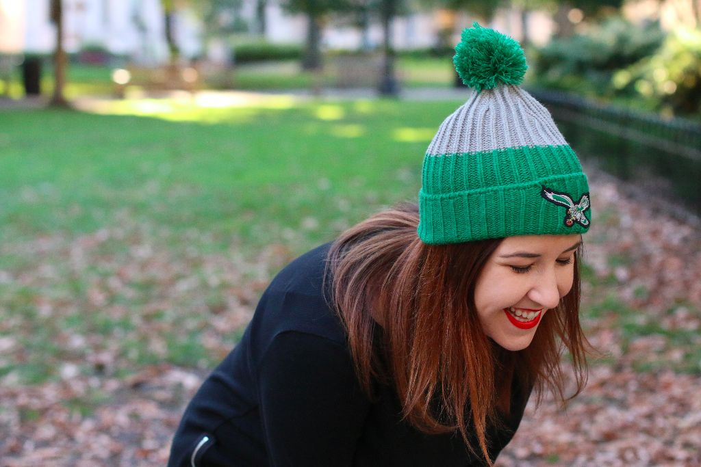 Philly Blogger and Eagles Lover Emily Tharp