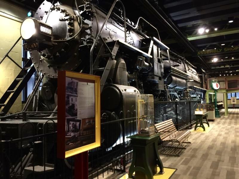 Franklin Institute: Train Room