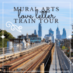 The Mural Arts Love Letters Train Tour