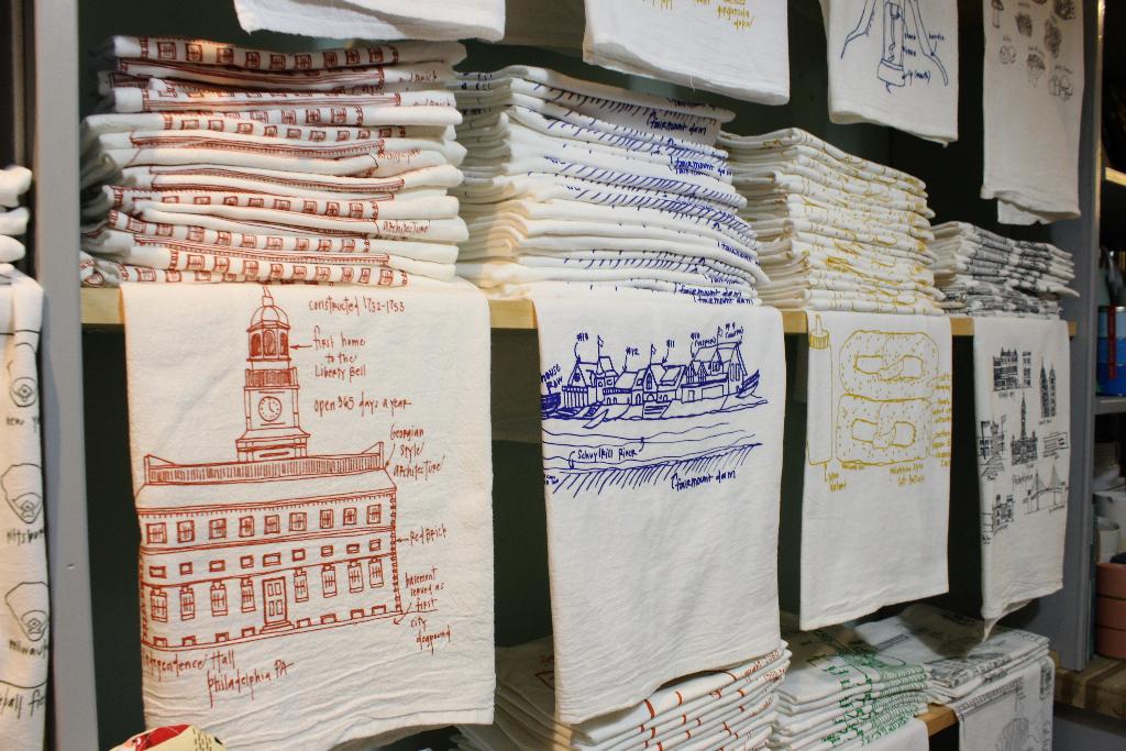 Philadelphia Tea Towels