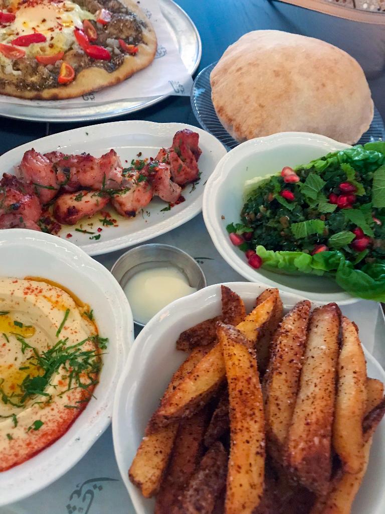 Suraya Kebab Plate