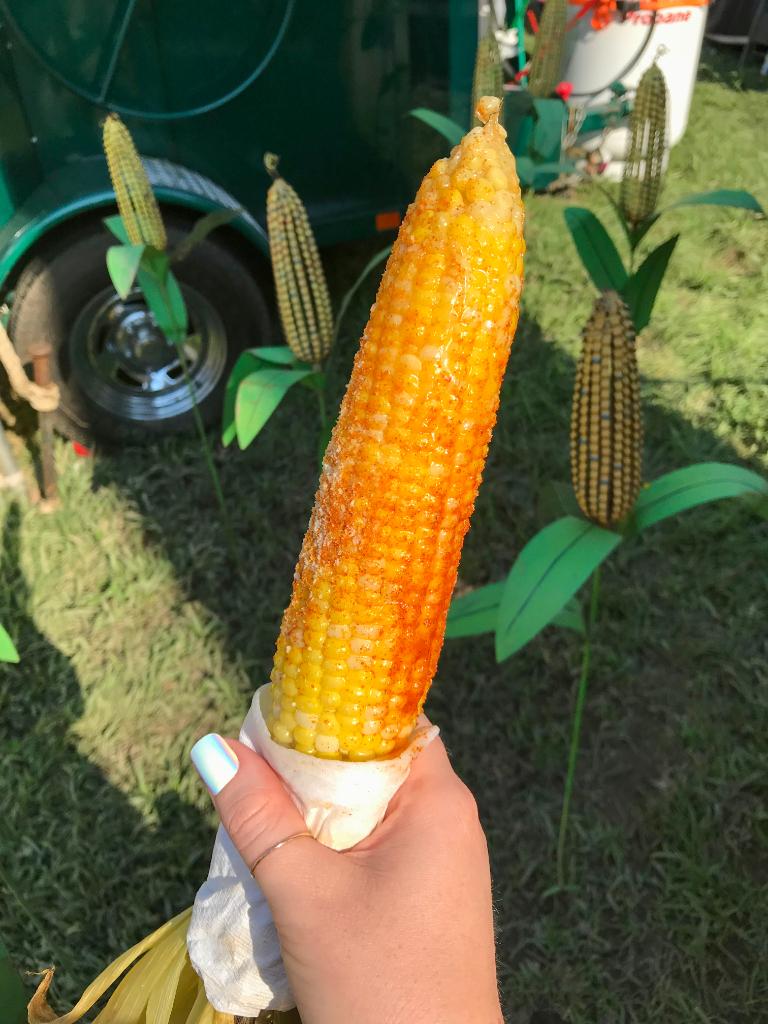 Corn on the cob musikfest