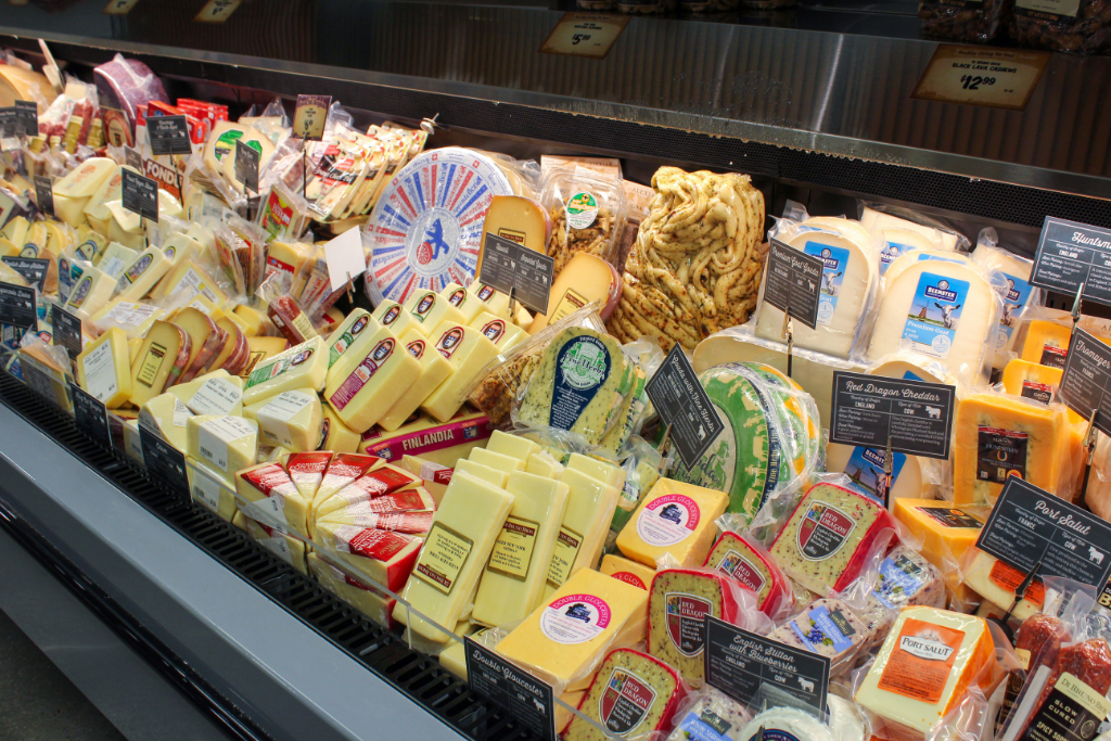 Cheese at Sprouts Philadelphia