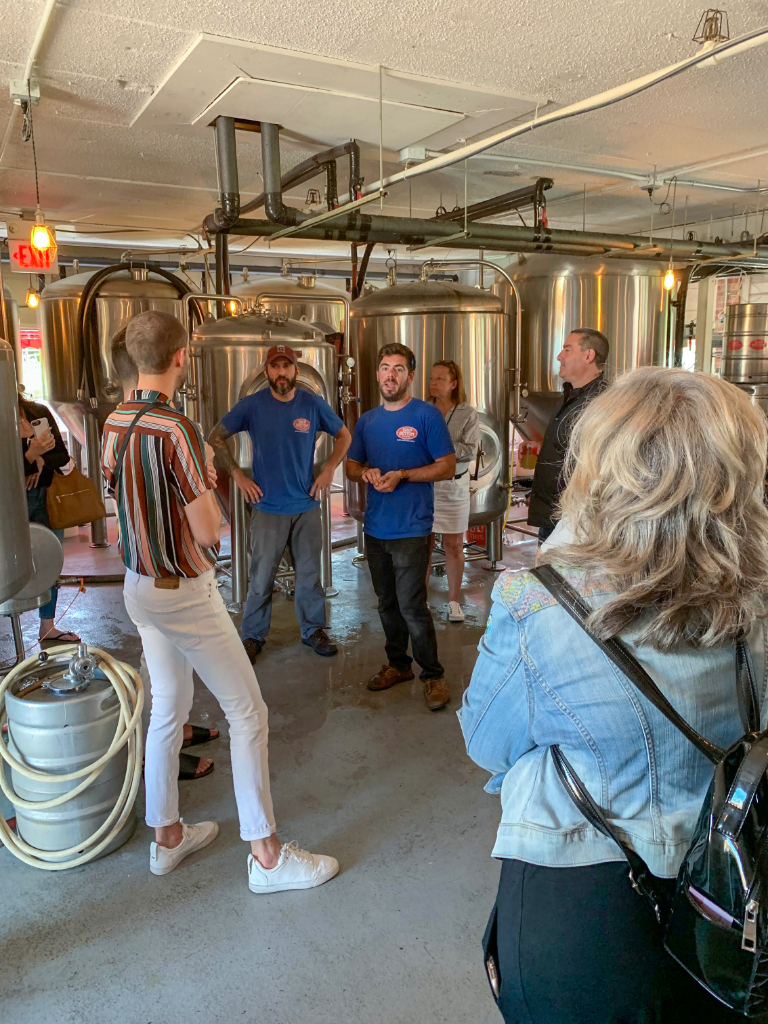 Ship Bottom Brewery brewmaster tour
