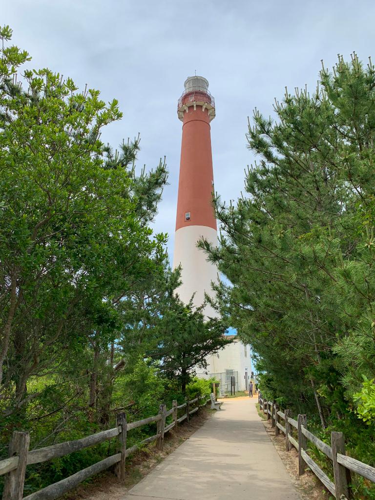 Touring Barnegat Lighthouse