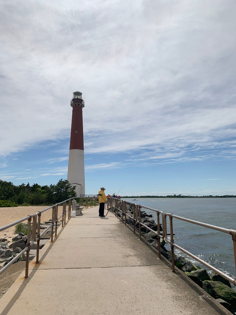View from pier by Barnegat Lighthouse