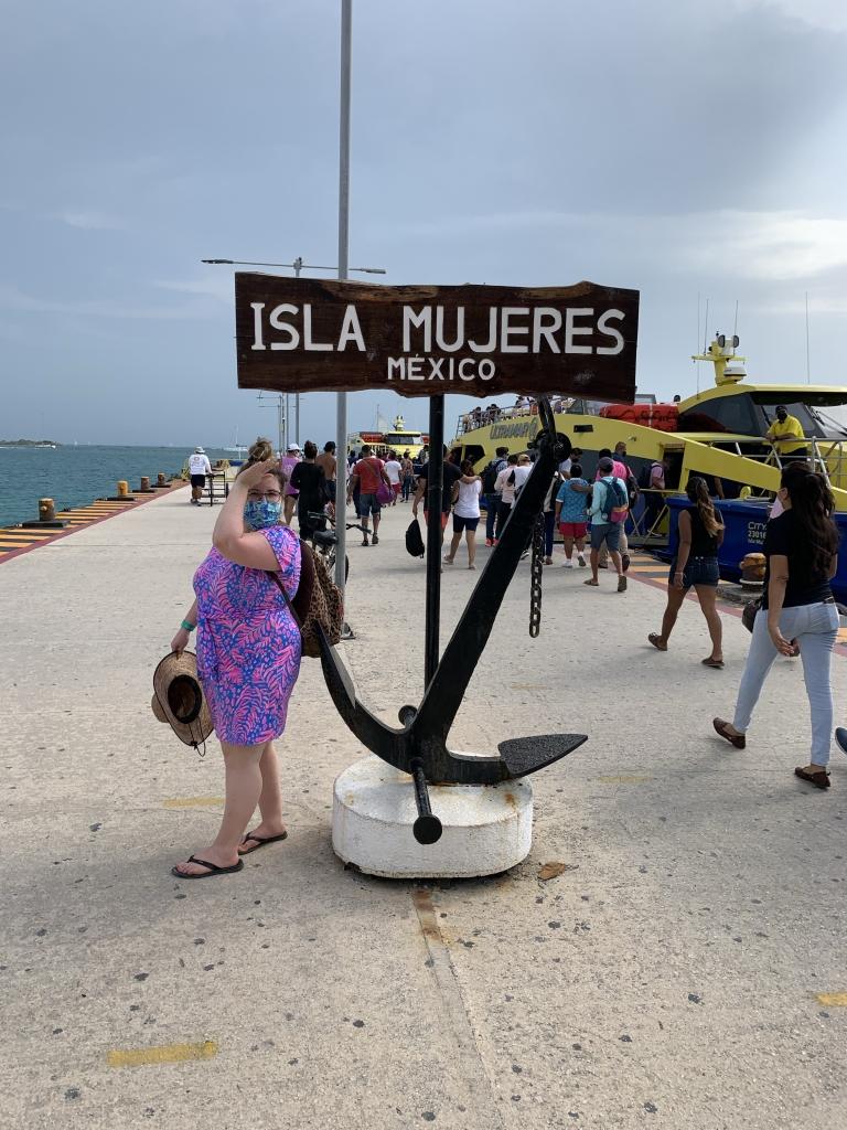 Isla Mujeres ferry Delta Gamma