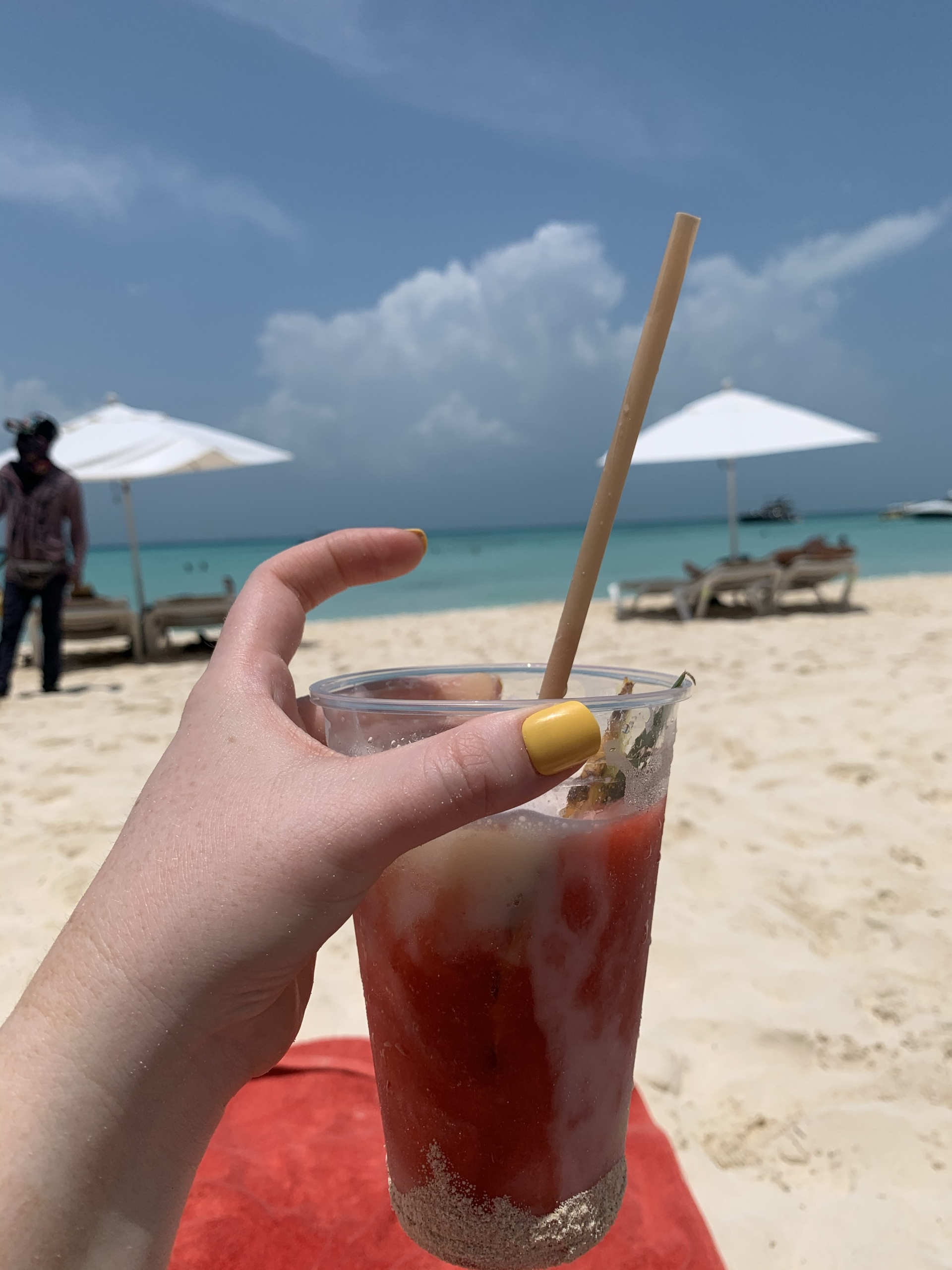 Drinks on Isla Mujeres