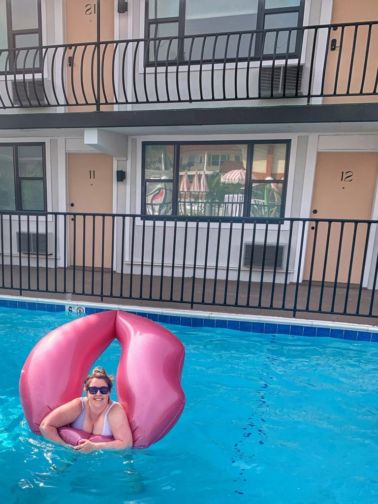 The Shore House Swim Club pool