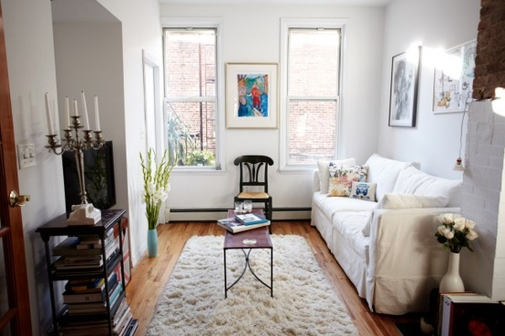 Small City Living Spaces {Pinspiration 2.0}