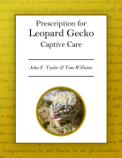 Prescription for Leopard Gecko Captive Care