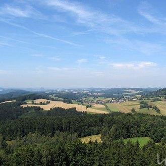 Ausblick Richtung Sächsische Schweiz