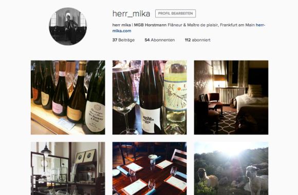 herr mika auf Instagram