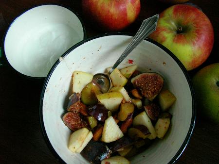 Obstsalat zum Frühstück