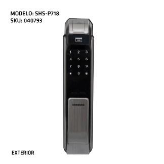 cerradura digital Samsung exterior