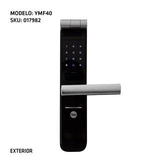 cerradura digitital Yale exterior