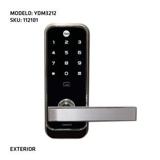 CERRADURA DIGITAL YDM3212 EXTERIOR