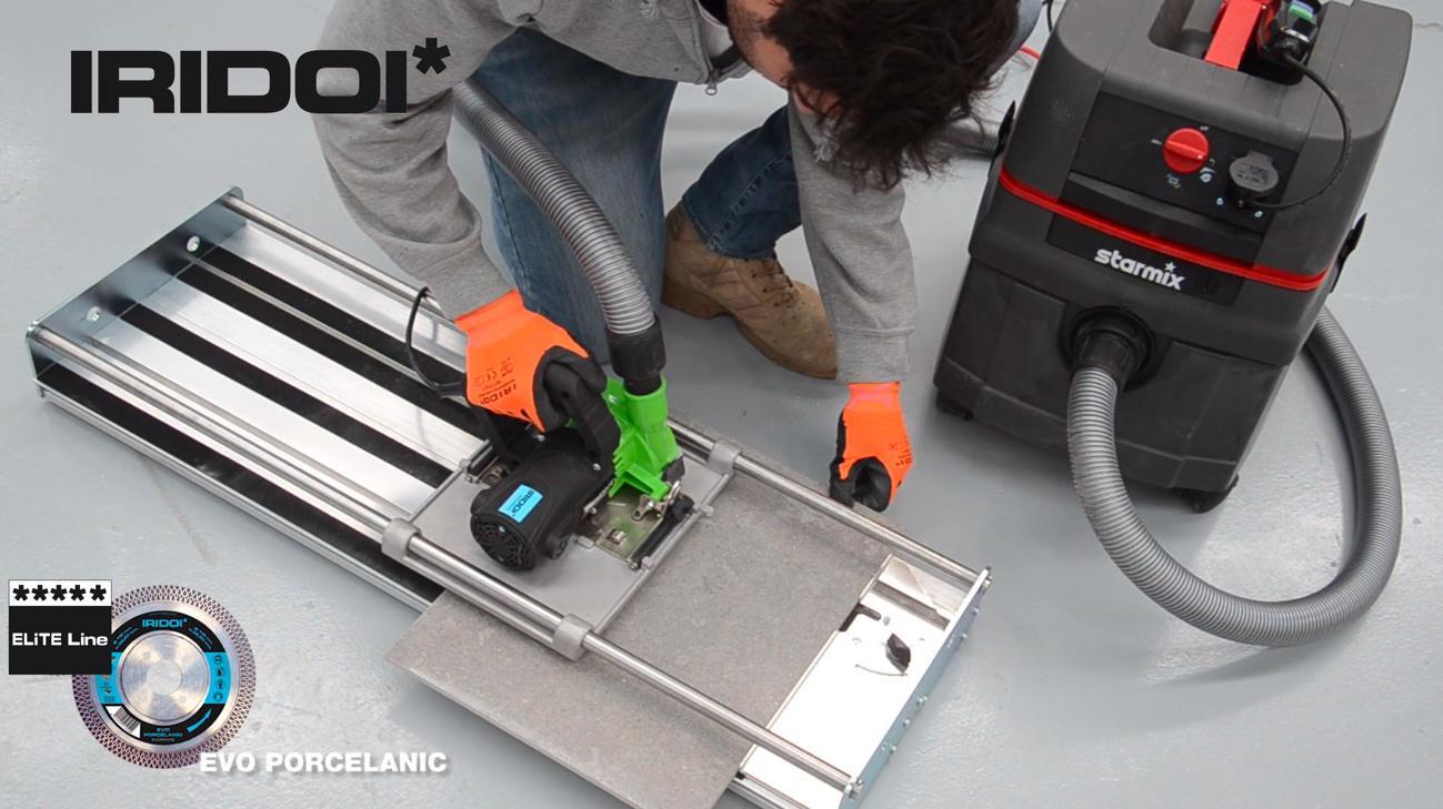 cortadora electrica iridoi con mesa